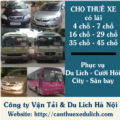Go to the profile of Cho Thuê Xe Du Lịch