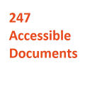 Go to the profile of 247accessibledocs
