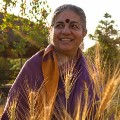 Go to the profile of Dr. Vandana Shiva