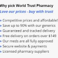 Go to the profile of World Trust Pharmacy