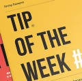 Go to the profile of Tip of the week