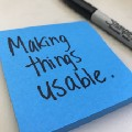 Making things usable