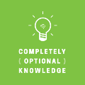 Completely Optional Knowledge