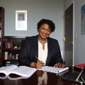 Go to the profile of Stacey Abrams