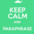 Go to the profile of Paraphrase Example