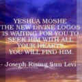 Yahweh Elyon Yeshua's Teachings