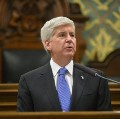 Go to the profile of Governor Rick Snyder