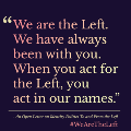 Go to the profile of We Are The Left