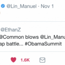 Finding hope… and dissing Lin-Manuel… at the Obama Foundation Summit