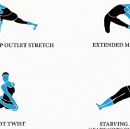 INFOGRAPHIC: Yoga for Writers