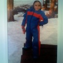I was a fearless snow bunny!