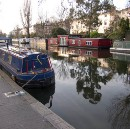 A Canal in Little Venice, London