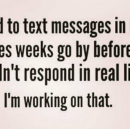 When People Don't Respond
