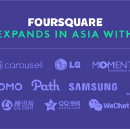 Foursquare strengthens in Asia