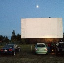 Classic drive-in in Grand Bend, Ontario