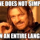 """Stop telling people to """"learn a language"""""""