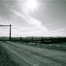 The Driveway, A Bar A Ranch, Wyoming