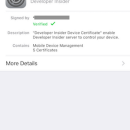 How to create a verified iOS Mobile Device Management(MDM) profile?