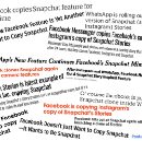 Facebook's shameless copying of Snapchat and what it means for your product strategy