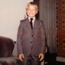 There was a time when I wore a suit. Apparently.