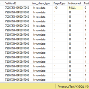 Recovering SQL Artifacts
