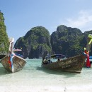 "Phi Phi - #Thailand - Incidentally this is where ""The Beach"" with Leo DiCaprio was filmed."