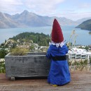 Hanging with my gnomie in Queenstown, NZ