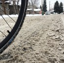 This is the one thing you should be frightened of while riding your bike in winter