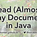 Read (Almost) Any Document in Java