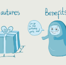 Benefits vs. Features