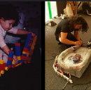 Building and breaking: How experimental play can lead to creative problem solving