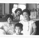 my grandmother, my aunt, my mom, my big brother and me (in tummy) in Tokyo, just before I was born.
