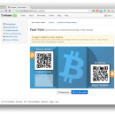 Use Coinbase to Export Your Bitcoins to a Paper Wallet