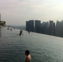Infinity Pool on 57th floor of Marina Bay Sands, Singapore