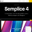The new Semplice has finally launched! Made by Designers, for Designers.