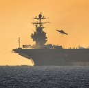 How big is the manual for an aircraft carrier?