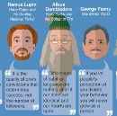INFOGRAPHIC: Inspirational Quotes from Fictional Mentors