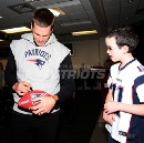 E:60 Follows a brave, young fan and his connection to Tom Brady