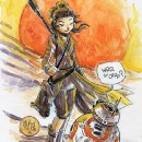 I love the scores of #fanart that comes from #scifi fans. :') #starwars #geek. Wow!