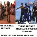 To Look Into the Eyes of a Refugee