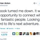 'Facebook turned me down' — the job rejection letter that turned into a $4 billion check