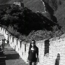 Climbing the Great Wall of China on my 25th birthday. October 14, 2010.