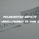 Polarization: How and why it happens