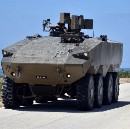 Israel's Next Troop Taxi Is a Giant, Armored Carapace