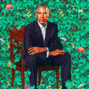 About That Chair In President Obama's Portrait