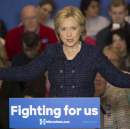 """Hillary Clinton Introduces New Campaign Slogan: """"No, We Can't"""""""