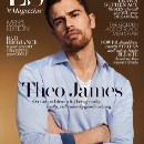HQ SCANS: Theo James Covers ES Magazine and Talks 'Backstabbing for Beginners'