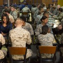 The First Lady's Travel Diary: Visiting Our Troops in Qatar