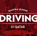 Journey from non-driver to driver in Qatar