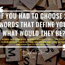 What Are Your 2-Words?